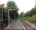 SO2073 : Llangynllo railway station by Jaggery