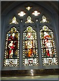 TQ1649 : St Martin, Dorking: stained glass window (B) by Basher Eyre