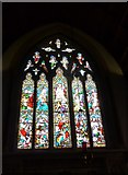 TQ1649 : St Martin, Dorking: stained glass window (F) by Basher Eyre