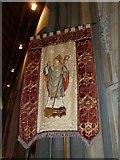 TQ1649 : St Martin, Dorking: banner (iii) by Basher Eyre