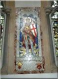 TQ1649 : St Martin, Dorking: memorial (k) by Basher Eyre