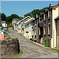 SN9904 : Miner's Row, LLwydcoed by Jonathan Billinger