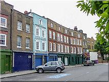 TQ3680 : Houses in Narrow Street, Limehouse, London by Christine Matthews