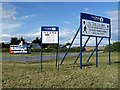 NT4878 : Park and ride facilities at the 2013 British Open golf tournament by Walter Baxter