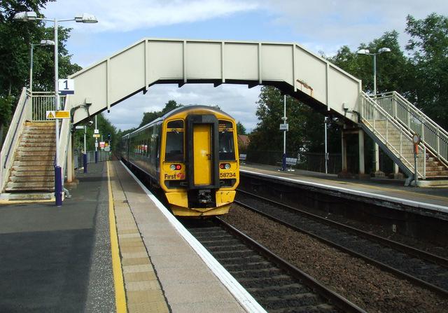Bishopbriggs railway station by Thomas Nugent