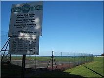 NU0052 : Berwick Tennis Club by Barbara Carr