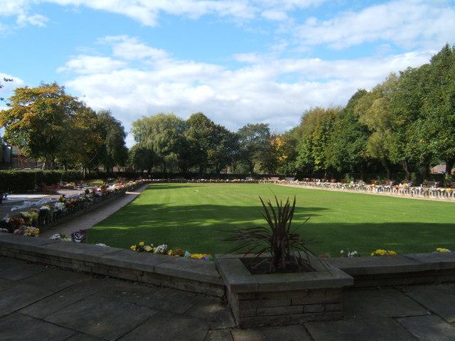 Garden of remembrance, West Road Crematorium