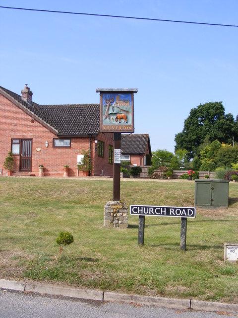 Yelverton Village sign