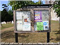 TG2902 : St.Mary's Church Notice Board by Adrian Cable