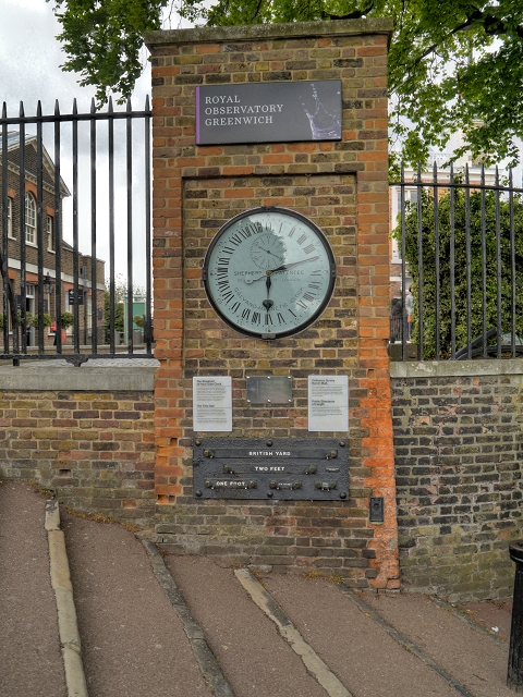 The Shepherd Gate Clock, Royal Observatory, Greenwich