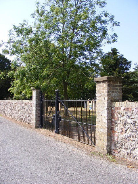 Entrance to St.Mary's Church