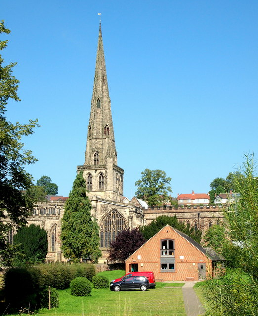 St Oswald's Church, Ashbourne, Derbys.