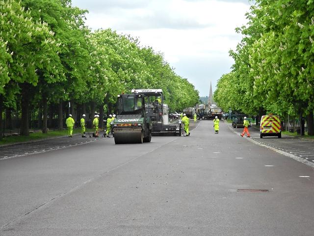 Royal Observatory Greenwich, Resurfacing the Car Park