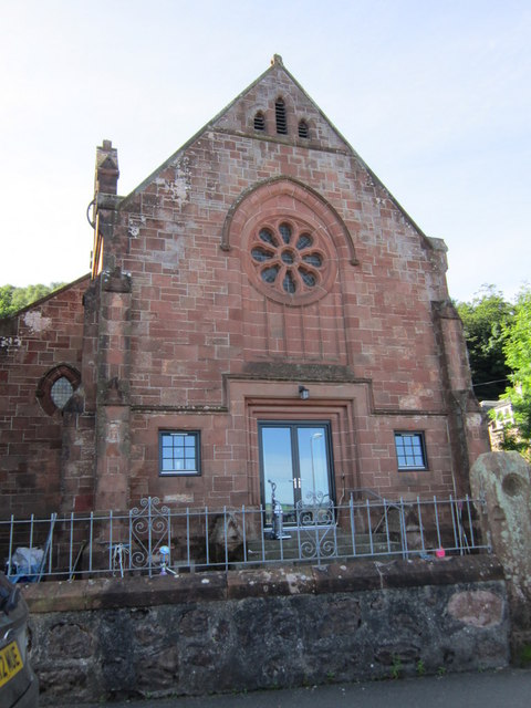 Former church at Kilchattan Bay