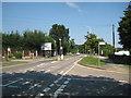 TQ5292 : Harold Hill: Straight Road by Nigel Cox
