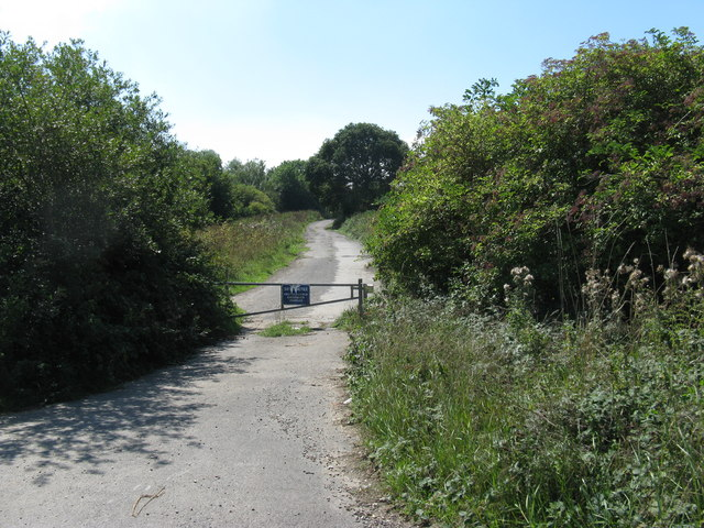 Barrier on Worms Lane
