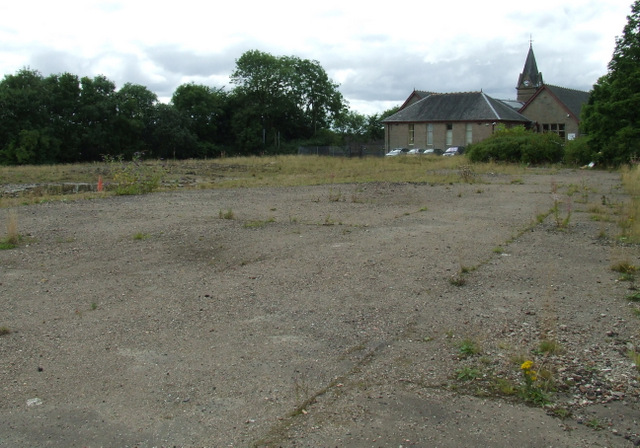 Site of Bishopbriggs High School by Thomas Nugent