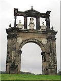 SJ9821 : Triumphal Arch at Shugborough by Stephen Craven