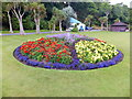 SC4495 : Flower bed Mooragh Park by Richard Hoare