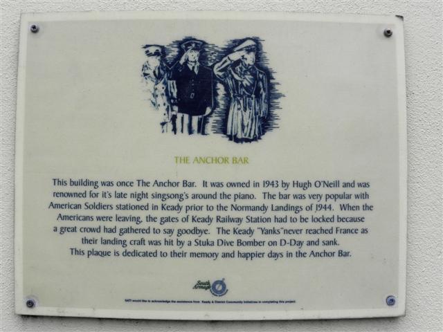 Plaque, The Anchor bar