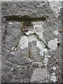 SN6703 : Ordnance Survey Cut Mark by Adrian Dust
