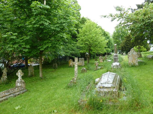 St Mary, Sixpenny Handley: churchyard (b)