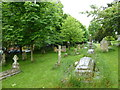 ST9917 : St Mary, Sixpenny Handley: churchyard (b) by Basher Eyre