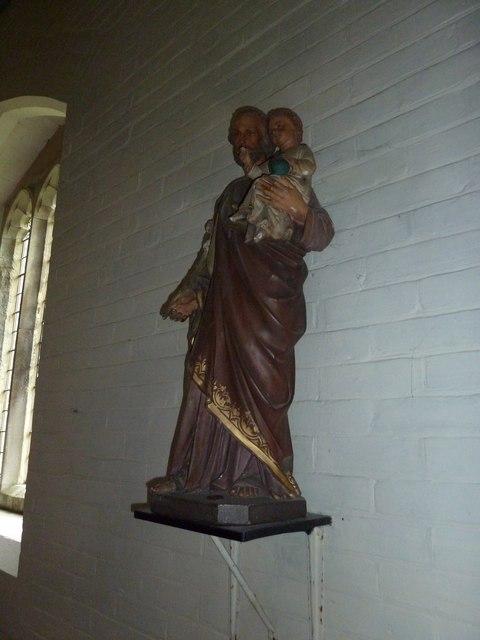 Inside St Mary, Sixpenny Handley (i)