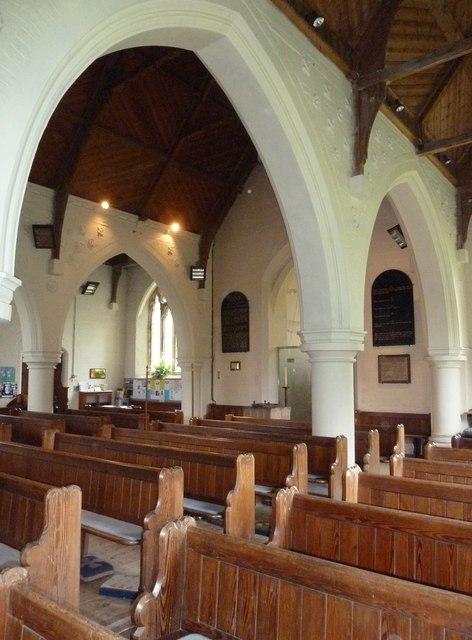 Inside St Mary, Sixpenny Handley (ii)