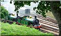 TQ3729 : Steam locomotives, Horsted Keynes Railway Station by nick macneill
