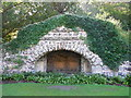 TQ0451 : Grotto - Clandon Park by Paul Gillett