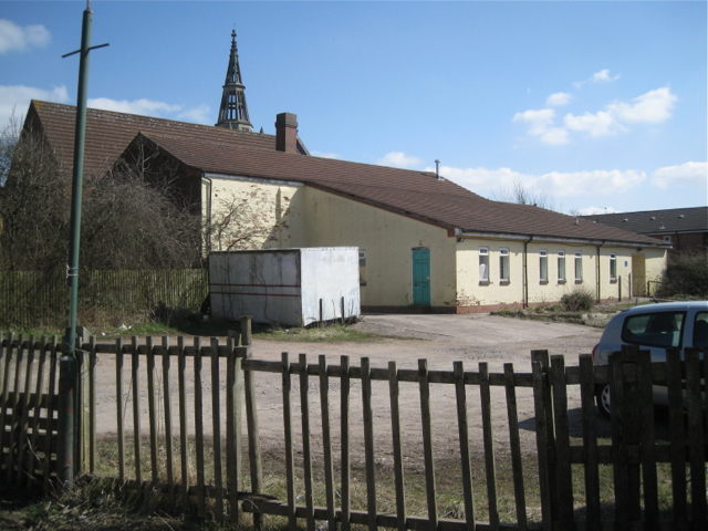 Church hall, Headless Cross Methodist Church, from The Rough, Redditch