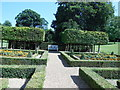 TQ0451 : Parterre, Clandon Park by Paul Gillett