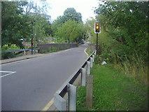 TQ2187 : Bridge over the Welsh Harp reservoir on Cool Oak Lane by David Howard