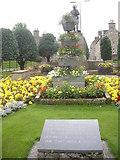 NJ4350 : War Memorial gardens, Keith by Stanley Howe