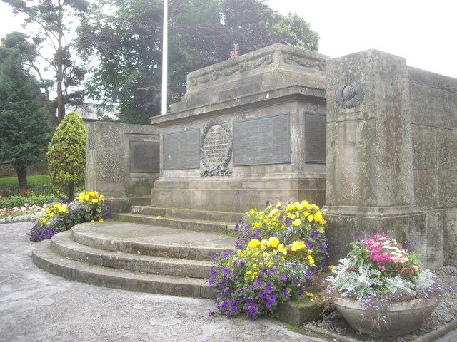 Parish War Memorial, Keith