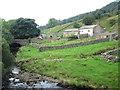 SD7690 : Banks Bridge and Farm, Garsdale by John Slater