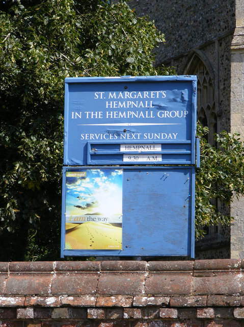 St.Margarets Church Notice Board