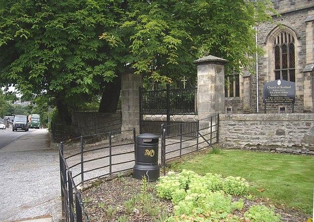 Gateway to St Rufus Church