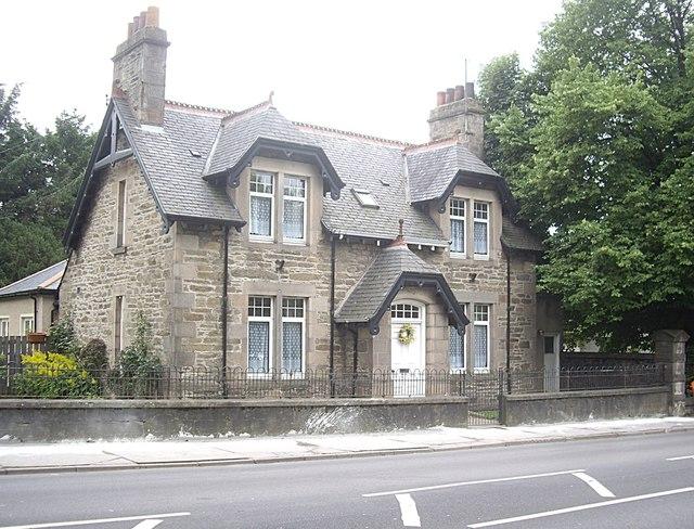 An elegant town house on Church Road, Keith