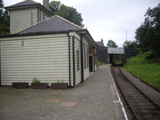 Keith Town station platform
