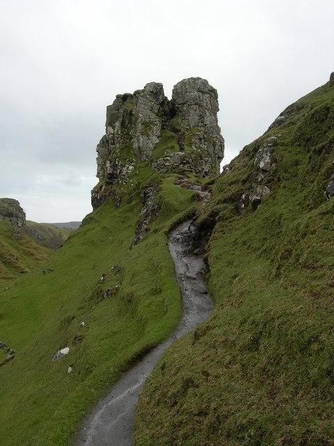 Path to Castle Ewen