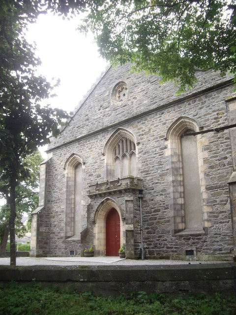 The east face of St Rufus Church
