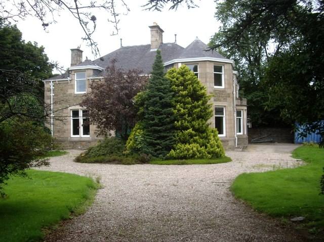 A mansion house on Church Road, Keith