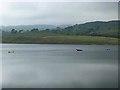 NY9422 : Boat anglers on Grassholme Reservoir by Oliver Dixon