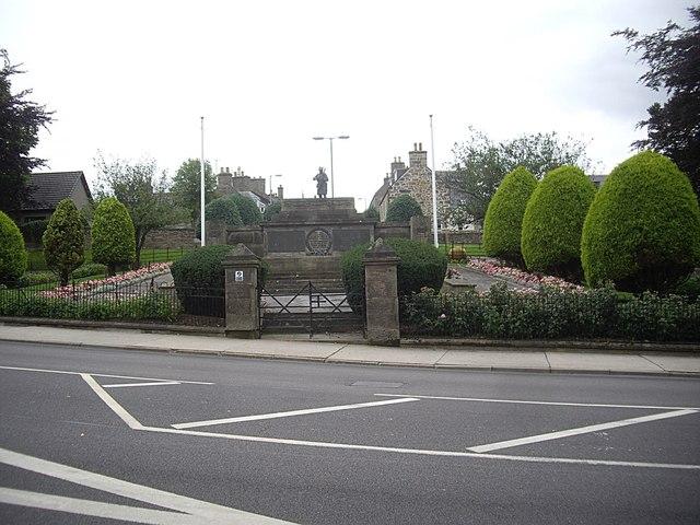Access gateway to Keith War Memorial Gardens