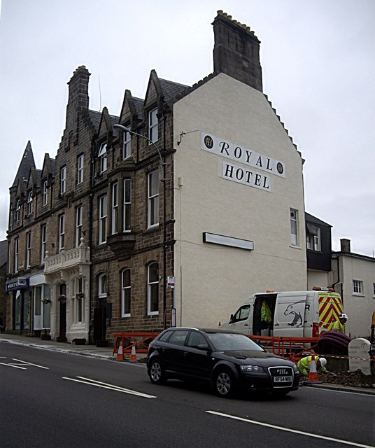 The Royal Hotel, Keith