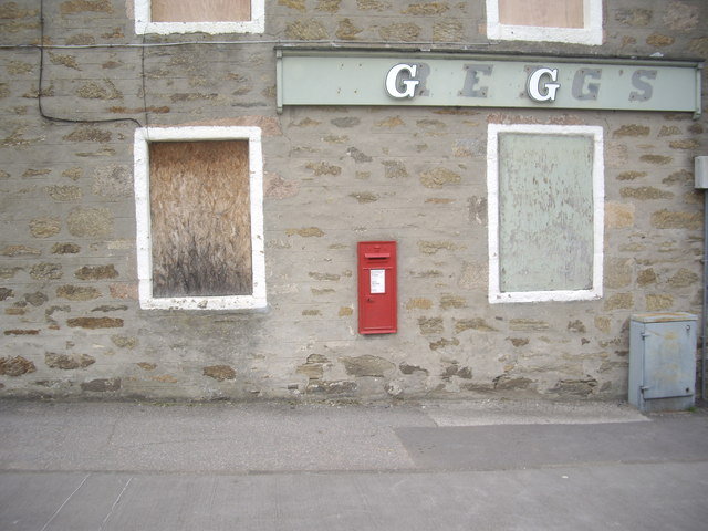 A wall mounted VR postbox