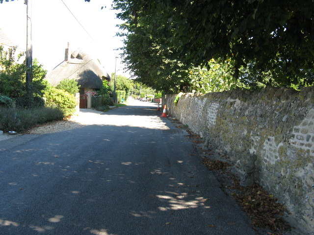Thatched cottage on Church Lane Pagham