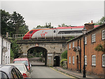 SJ9922 : Pendolino at Great Haywood by Stephen Craven